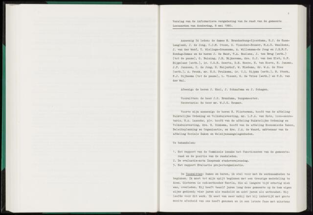 Raadsverslagen van de gemeente Leeuwarden, 1865-2007 (Notulen) 1980-05-08