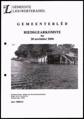 Notulen van de gemeenteraad van Leeuwarderadeel 2006-11-30