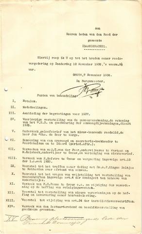 raadsverslagen Idaarderadeel 1935-1983 1936-11-12