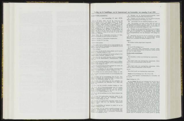 Raadsverslagen van de gemeente Leeuwarden, 1865-2007 (Notulen) 1970-05-11