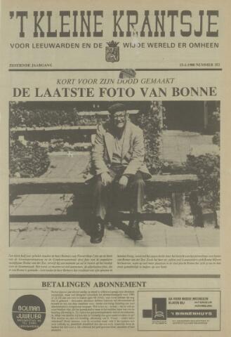 't Kleine Krantsje, 1964-1997 1980-01-13