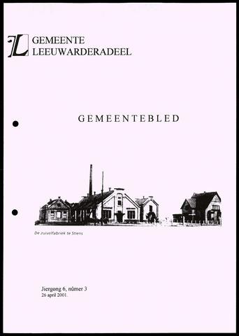 Notulen van de gemeenteraad van Leeuwarderadeel 2001-04-26