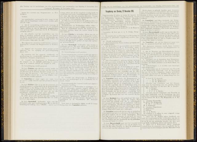 Raadsverslagen van de gemeente Leeuwarden, 1865-2007 (Notulen) 1915-11-23