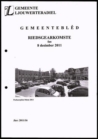 Notulen van de gemeenteraad van Leeuwarderadeel 2011-12-08
