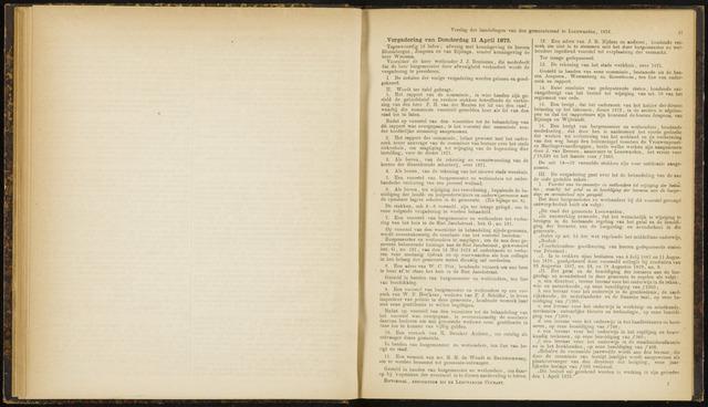 Raadsverslagen van de gemeente Leeuwarden, 1865-2007 (Notulen) 1872-04-11