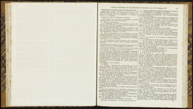 Raadsverslagen van de gemeente Leeuwarden, 1865-2007 (Notulen) 1878-08-29