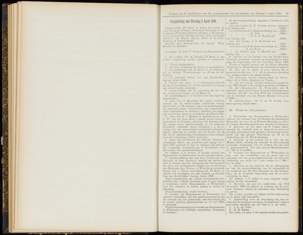 Raadsverslagen van de gemeente Leeuwarden, 1865-2007 (Notulen) 1910-04-05