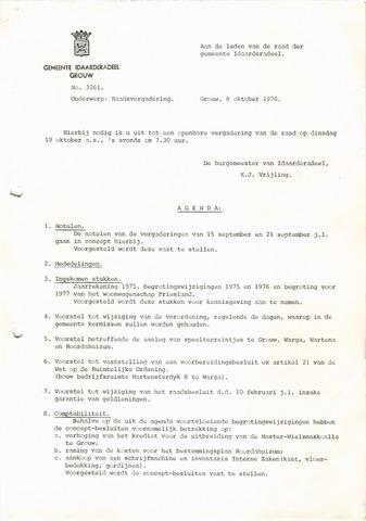 raadsverslagen Idaarderadeel 1935-1983 1976-10-19