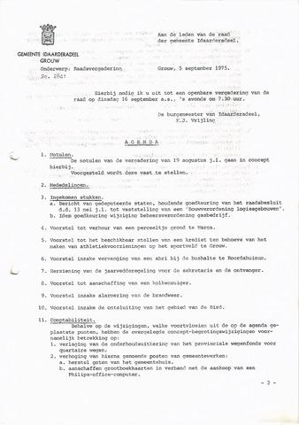 raadsverslagen Idaarderadeel 1935-1983 1975-09-06