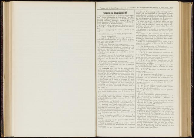 Raadsverslagen van de gemeente Leeuwarden, 1865-2007 (Notulen) 1917-06-26