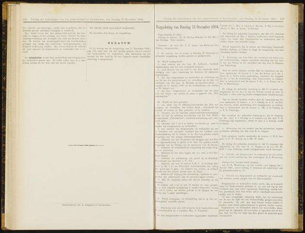 Raadsverslagen van de gemeente Leeuwarden, 1865-2007 (Notulen) 1894-12-11