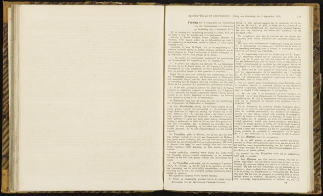 Raadsverslagen van de gemeente Leeuwarden, 1865-2007 (Notulen) 1870-09-08