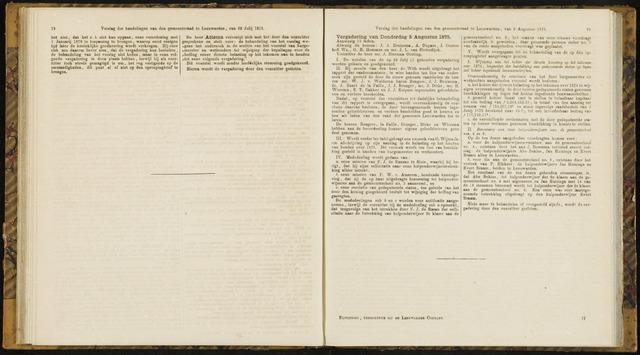 Raadsverslagen van de gemeente Leeuwarden, 1865-2007 (Notulen) 1875-08-05