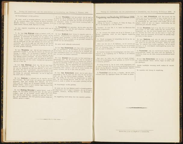 Raadsverslagen van de gemeente Leeuwarden, 1865-2007 (Notulen) 1896-02-13