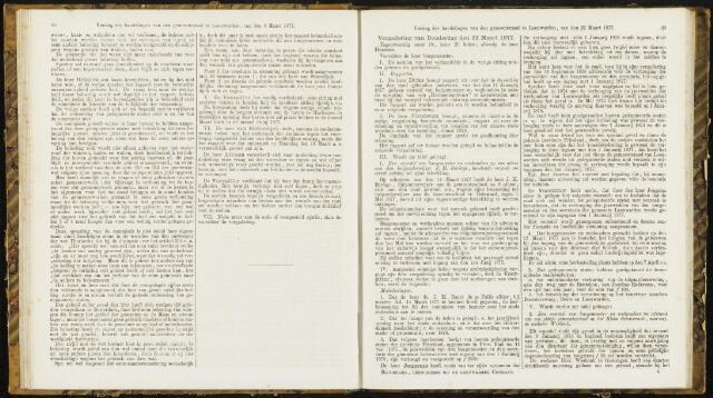 Raadsverslagen van de gemeente Leeuwarden, 1865-2007 (Notulen) 1877-03-22