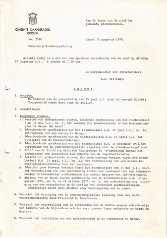 raadsverslagen Idaarderadeel 1935-1983 1976-08-17