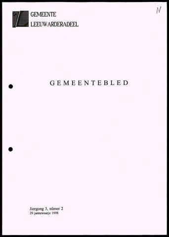 Notulen van de gemeenteraad van Leeuwarderadeel 1998-01-29