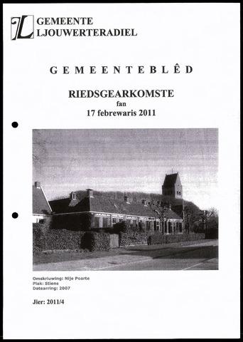 Notulen van de gemeenteraad van Leeuwarderadeel 2011-02-17
