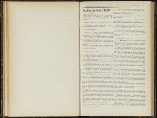 Raadsverslagen van de gemeente Leeuwarden, 1865-2007 (Notulen) 1900-05-22