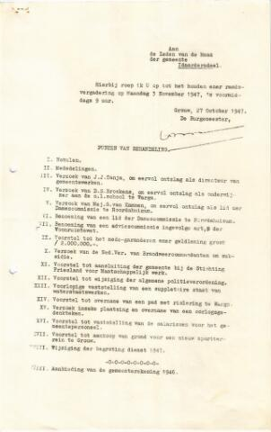 raadsverslagen Idaarderadeel 1935-1983 1947-11-03