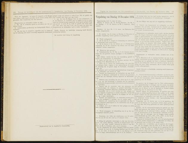 Raadsverslagen van de gemeente Leeuwarden, 1865-2007 (Notulen) 1894-12-18