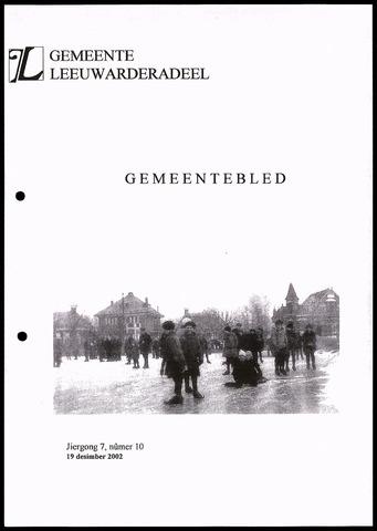 Notulen van de gemeenteraad van Leeuwarderadeel 2002-12-19