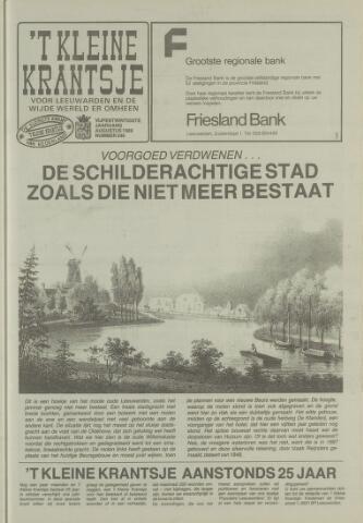 't Kleine Krantsje, 1964-1997 1989-08-01