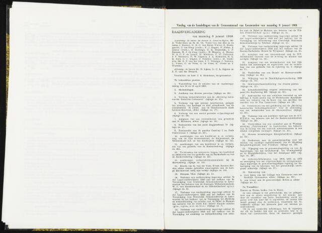 Raadsverslagen van de gemeente Leeuwarden, 1865-2007 (Notulen) 1968