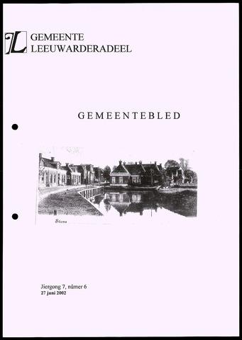 Notulen van de gemeenteraad van Leeuwarderadeel 2002-06-27