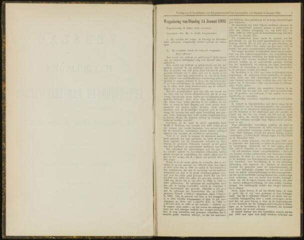 Raadsverslagen van de gemeente Leeuwarden, 1865-2007 (Notulen) 1902