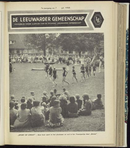 Leeuwarder Gemeenschap 1958-07-01