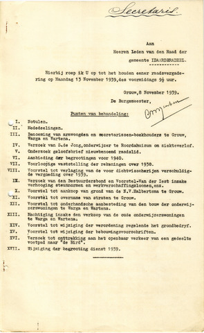 raadsverslagen Idaarderadeel 1935-1983 1939-11-13