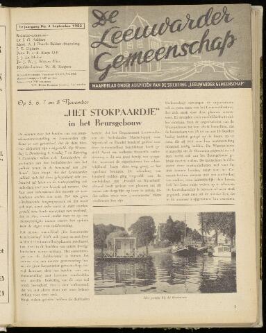 Leeuwarder Gemeenschap 1952-09-01
