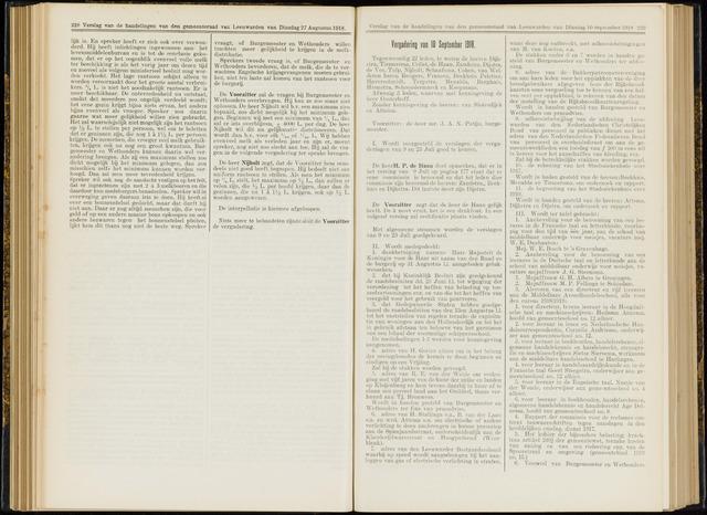 Raadsverslagen van de gemeente Leeuwarden, 1865-2007 (Notulen) 1918-09-10