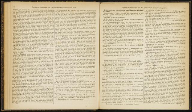 Raadsverslagen van de gemeente Leeuwarden, 1865-2007 (Notulen) 1872-02-05