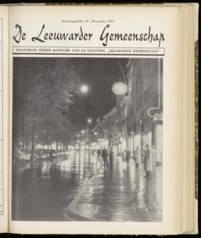 Leeuwarder Gemeenschap 1955-11-01