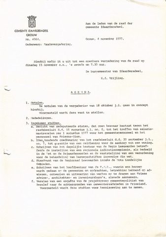 raadsverslagen Idaarderadeel 1935-1983 1977-11-15