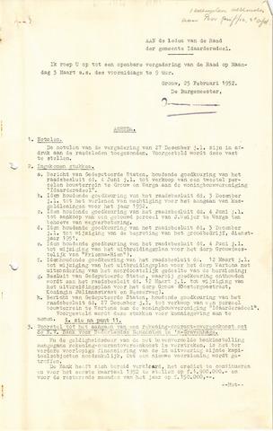 raadsverslagen Idaarderadeel 1935-1983 1952