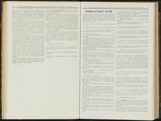 Raadsverslagen van de gemeente Leeuwarden, 1865-2007 (Notulen) 1905-06-27