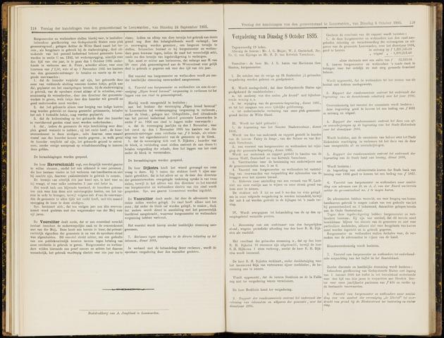 Raadsverslagen van de gemeente Leeuwarden, 1865-2007 (Notulen) 1895-10-08