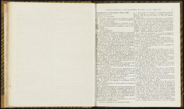 Raadsverslagen van de gemeente Leeuwarden, 1865-2007 (Notulen) 1882-03-02