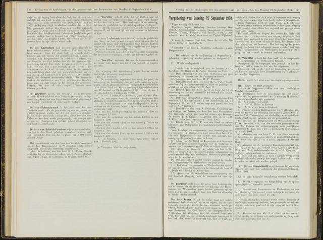 Raadsverslagen van de gemeente Leeuwarden, 1865-2007 (Notulen) 1904-09-27