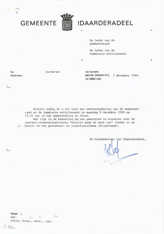 raadsverslagen Idaarderadeel 1935-1983 1980-12-08