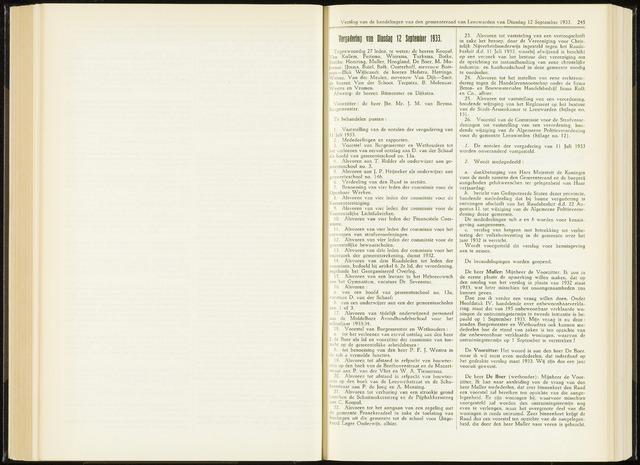 Raadsverslagen van de gemeente Leeuwarden, 1865-2007 (Notulen) 1933-12-09