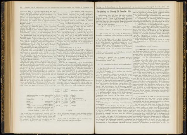 Raadsverslagen van de gemeente Leeuwarden, 1865-2007 (Notulen) 1910-12-20
