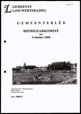 Notulen van de gemeenteraad van Leeuwarderadeel 2008-10-09