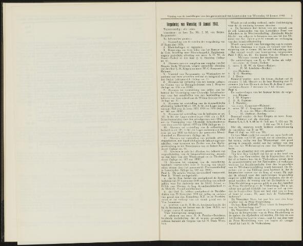Raadsverslagen van de gemeente Leeuwarden, 1865-2007 (Notulen) 1940