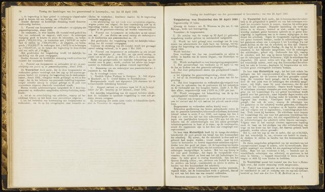 Raadsverslagen van de gemeente Leeuwarden, 1865-2007 (Notulen) 1883-04-26