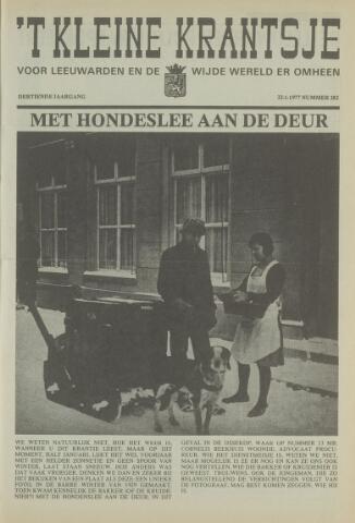 't Kleine Krantsje, 1964-1997 1977-01-22