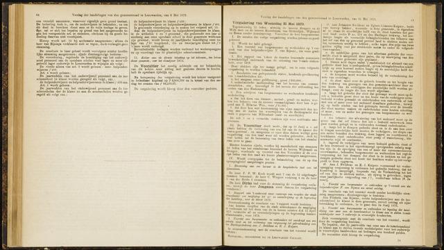 Raadsverslagen van de gemeente Leeuwarden, 1865-2007 (Notulen) 1873-05-21